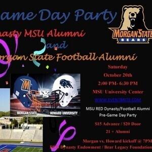 MSU RED Dynasty/Football Alumni Pre-Game Day Party