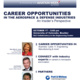 Career Opportunities in the Aerospace and Defense Industries: An Insider's Perspective