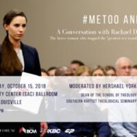 Me Too and You? A Conversation  with Rachel Denhollander