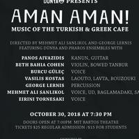 Aman Aman! Music of the Turkish & Greek Cafe
