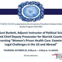 Global Salon Series Presents - Mr. Levi Burkett