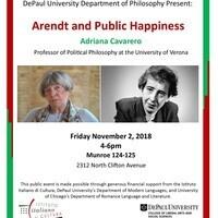 GSA/SURG Speaker: Adriana Cavarero, University of Verona