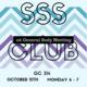 SSS Club 1st general body meeting