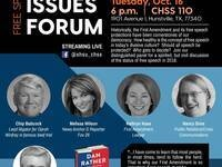 Contemporary Issues Forum: Free Speech