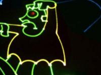 Laser Halloween
