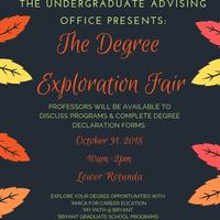 Fall 2018 Degree Exploration Fair