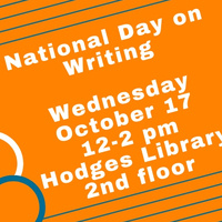 National Day on Writing Celebration