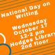 National Day on Writing Celebration