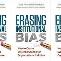 'Erasing Institutional Bias' Book Launch