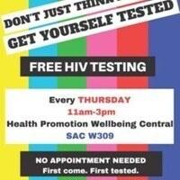 Free HIV Testing