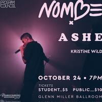Homecoming Concert: NoMBe & Ashe