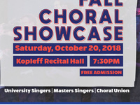 Signature Series: Fall Choral Showcase