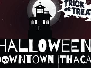 Halloween in Downtown Ithaca