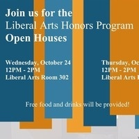 Liberal Arts Honors Program Open House