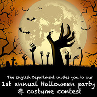 English Department 1st Annual Halloween Party