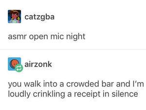 ASMR Open Mic Night
