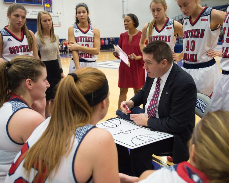 USI Women's Basketball at  Rockhurst University at Kansas City, MO