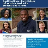 Dual Enrollment/Early College Information Session for Students and Parents