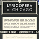 Lyric Opera House Field Trip