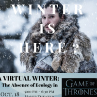 A Virtual Winter: The absence of Ecology in Game of Thrones