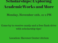 Scholarships: Exploring AcademicWorks and More