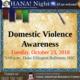 OHANA! presents Domestic Violence Awareness