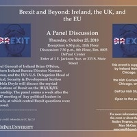 Brexit and Beyond --  Impacts on the Ireland/UK/EU Relationship Panel Discussion