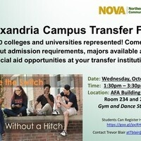 Alexandria Campus Annual Transfer Fair for 2018