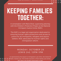 Keeping Families Together: A conversation with Marie Silver, supervising attorney with the Children's Protection Project at the National Immigrant Justice Center.