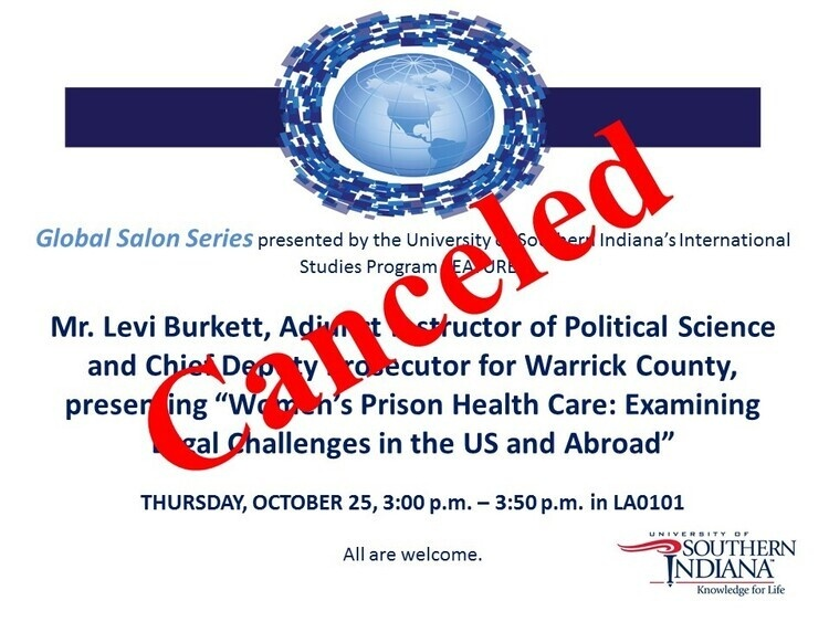 Event has been canceled. at Liberal Arts Center