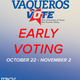 Vaqueros Vote: Early Voting at UTRGV (Hidalgo County)