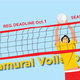 Intramural Volleyball Registration Deadline