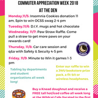 Commuter Appreciation week!