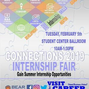 Connections 2019: Internship Fair