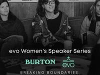 Evo Women's Speaker Series: Snowboarding