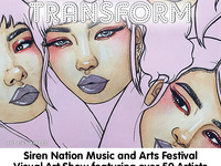 Siren Nation 2018 Group Visual Arts Show: Transform