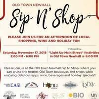 Old Town Newhall Sip N' Shop