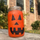 Catch the Halloween spirit with DIY dorm-safe pumpkin lanterns!