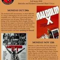 Pan-African Film Classics Fall Series: Malcolm X