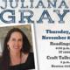 The Georgia Poetry Circuit Presents Juliana Gray