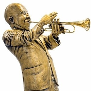 "Louis ""Satchmo"" Armstrong makes guest appearance at Bella Arte Gallery"