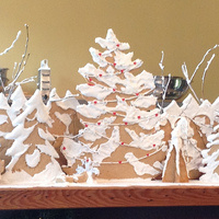 Winter Break: Make a Gingerbread Forest