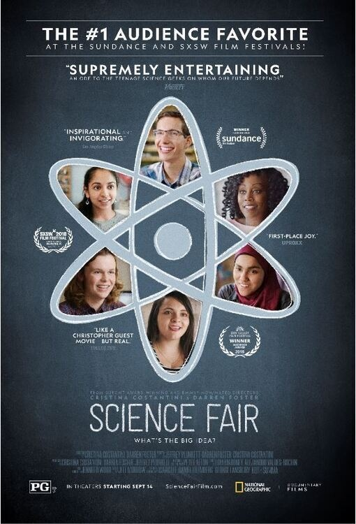 """National Geographic's """"Science Fair"""" Documentary Screening - Presented by the SwISTEM Resource Center at Wright Administration Building / Forums"""