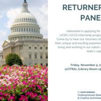 UCDC/UCCS Returner Panel