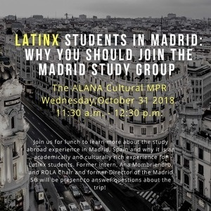 LATINX Students in Madrid