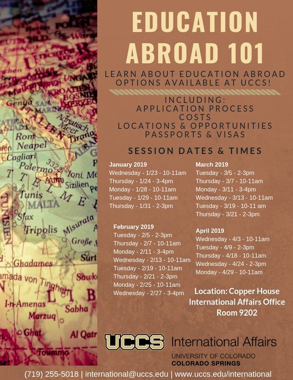 Education Abroad 101