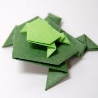 """One Richmond, One Book: """"Friendship According to Humphrey"""" - Origami Frogs"""