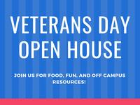 Veterans Day Open House
