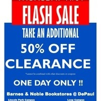 50% Off Clearance Apparel Sale