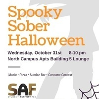 Sober Halloween Party/Social